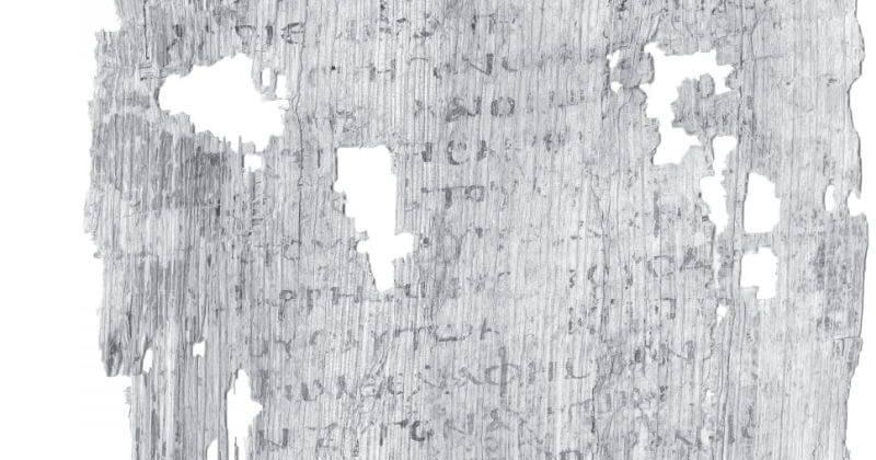 Reading The Oldest Fragment Of Mark's Gospel